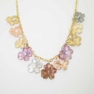 Jewelry - 14k Gold Plumeria Flower Hawaiian Necklace